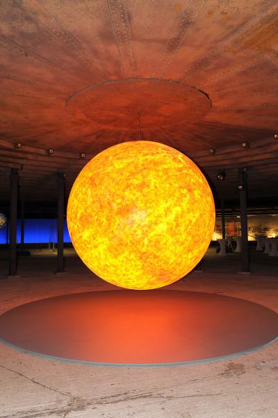 Skulptur der Sonne
