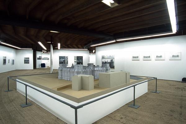 Nachbau des durch Christo verhüllten Reichstags