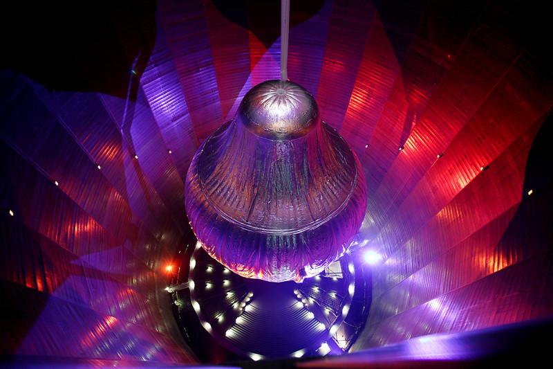 Breitling Orbiter III im Gasometer